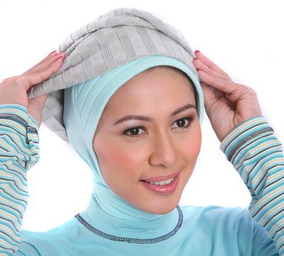 jilbab yang kita pakai nah berikut cara pakai jilbab kreasi bagian