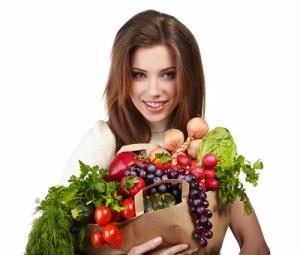 wanita vegetarian