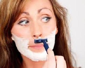hilangkan kumis tipis wanita
