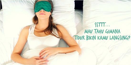 tidur yang bikin langsing